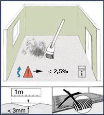 Ламинат АкваСтеп можно класть на мокрую стяжку