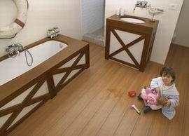 Ламинат AquaStep Безопасен для детей